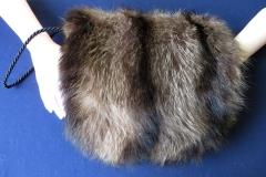 Pelz-Muff Waschbär