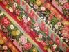 Diagonale Blütenstreifen