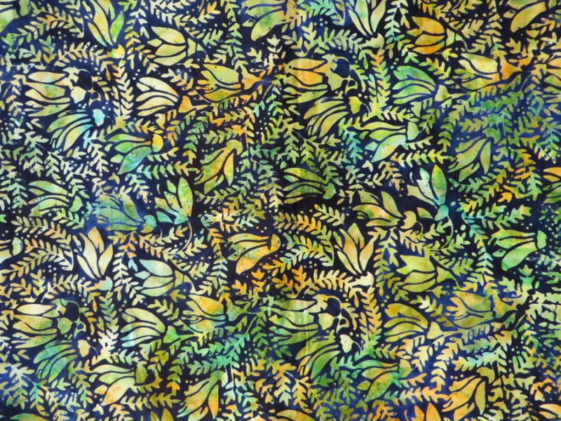 Stilisierte Blüten und Blätter