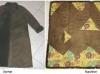 Lamm-Mantel wird Decke