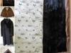 Nerz-Mantel und Nerz-Jacke werden Decke