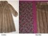 Nerz-Mantel wird Decke